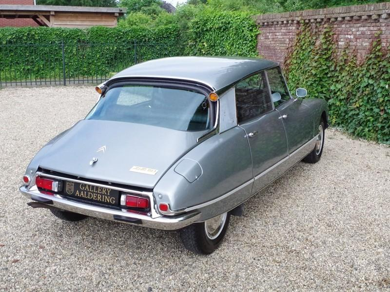 CITROËN DS21 PALLAS INJECTION WITH SUNROOF AND MANUAL GEARBOX! . (1970) #71