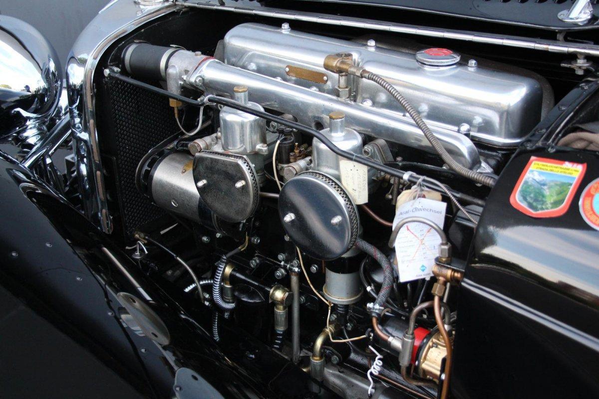 Jaguar SS 100 2,5 litre #14