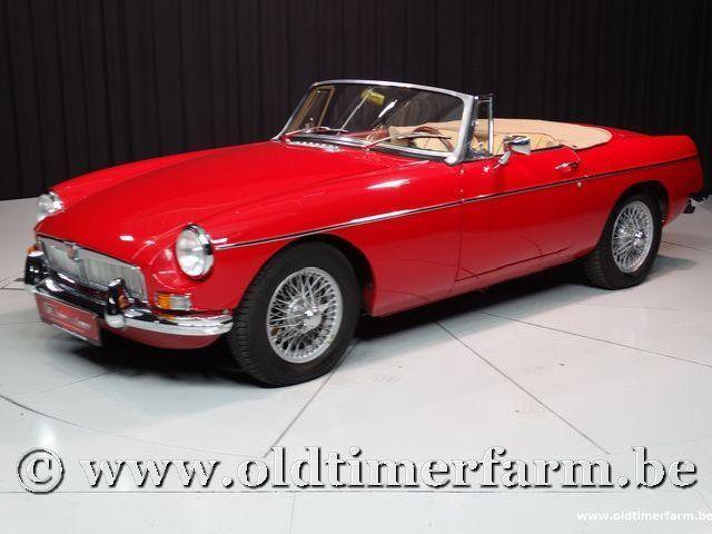 MG B Roadster Red '67 #55