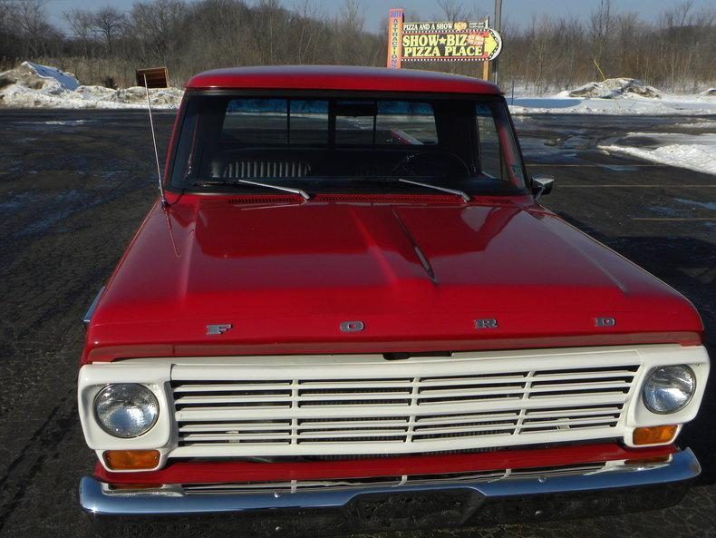1969 Ford F100 Deluxe Styleside Pickup #7