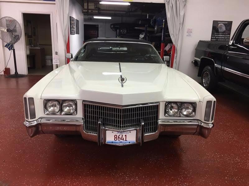 1971 Cadillac El Dorado Classic Caddy Convertible Stock # 18571JSCVO for sale near Mundelein, IL | IL Cadillac Dealer #9