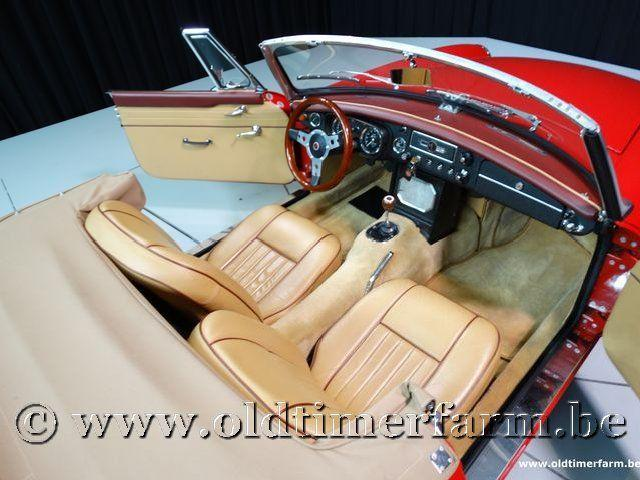 MG B Roadster Red '67 #147