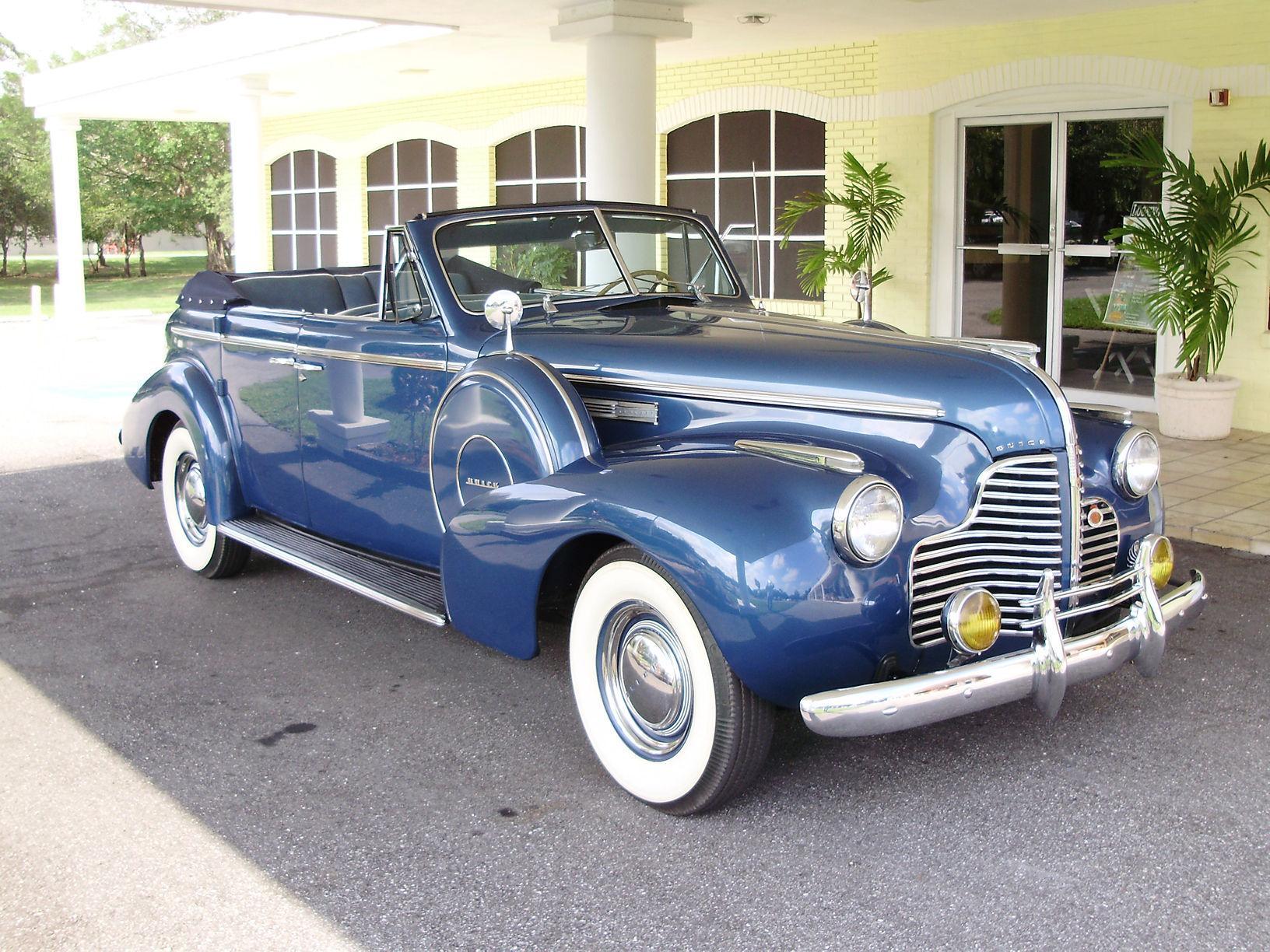 1940 BUICK CENTURY CONVERTIBLE SEDAN - Vintage Motors of Sarasota Inc. #44