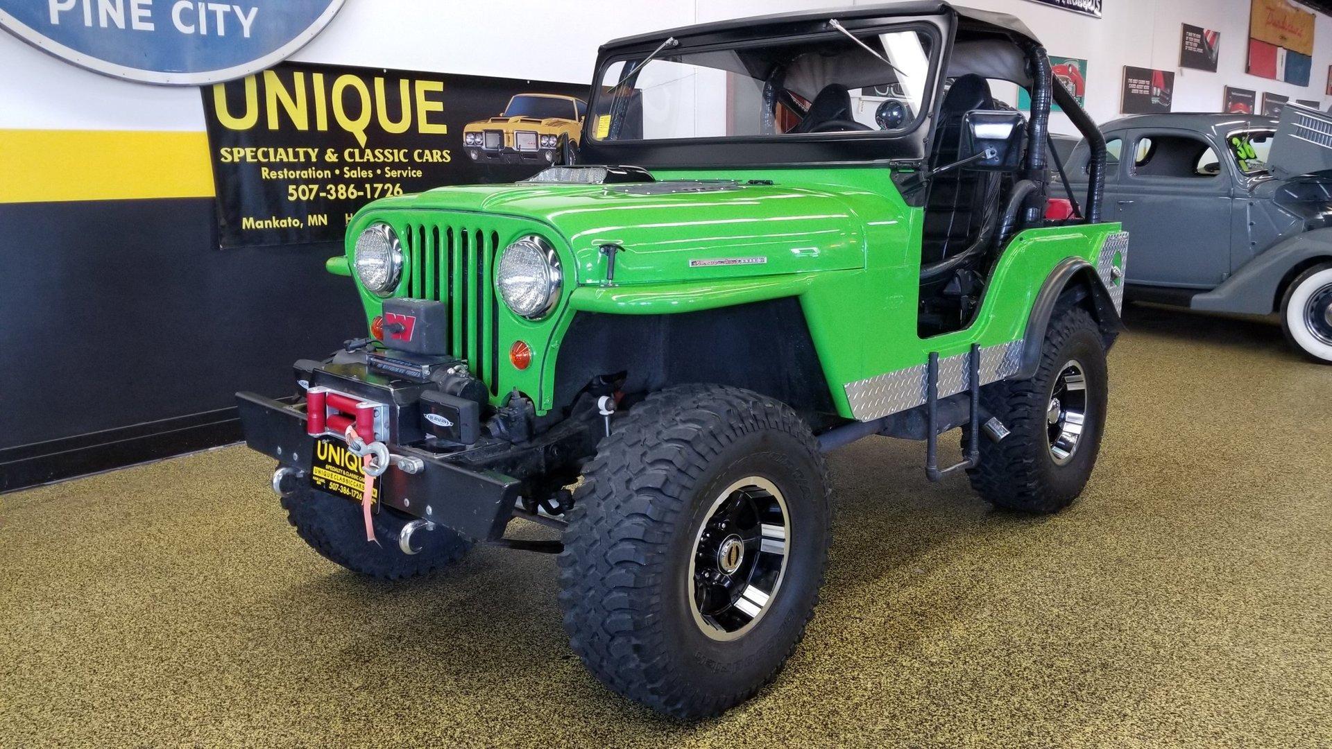 Classic Jeep Cars for Sale | Autoclassics.com