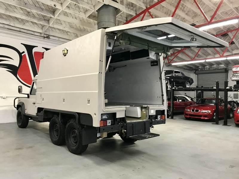 Land Rover Defender 110 Perentie Ambulance 6x6 1989 #4