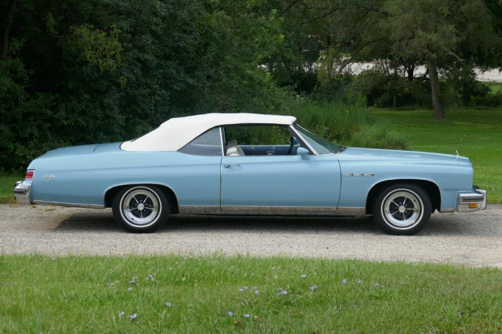 1975 Buick LeSabre -PRICE DROP - CONVERTIBLE -SUPER LOW MILES- NEW PAINT 2017-SEE VIDEO Stock # 75ILKF for sale near Mundelein, IL | IL Buick Dealer #3