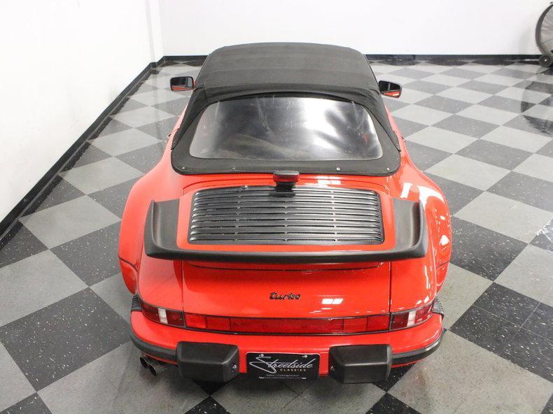 1988 Porsche 911 Turbo Cabriolet #17