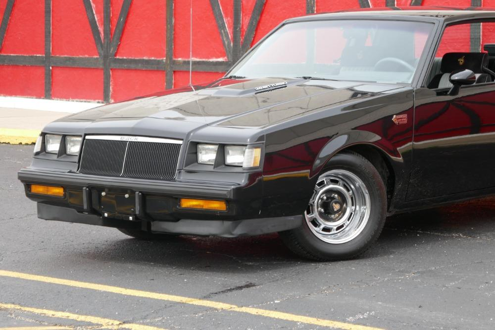 1986 Buick Grand National -PRICED TO SELL-ONE OWNER STOCK GN-LOW 34K MILES-CLEAN CARFAX-SEE VIDEO Stock # 52343SG for sale near Mundelein, IL | IL Buick Dealer #1