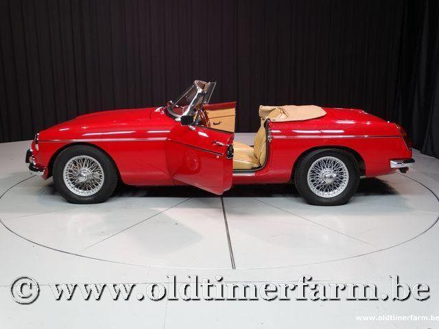 MG B Roadster Red '67 #129