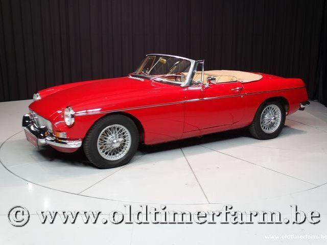 MG B Roadster Red '67 #6