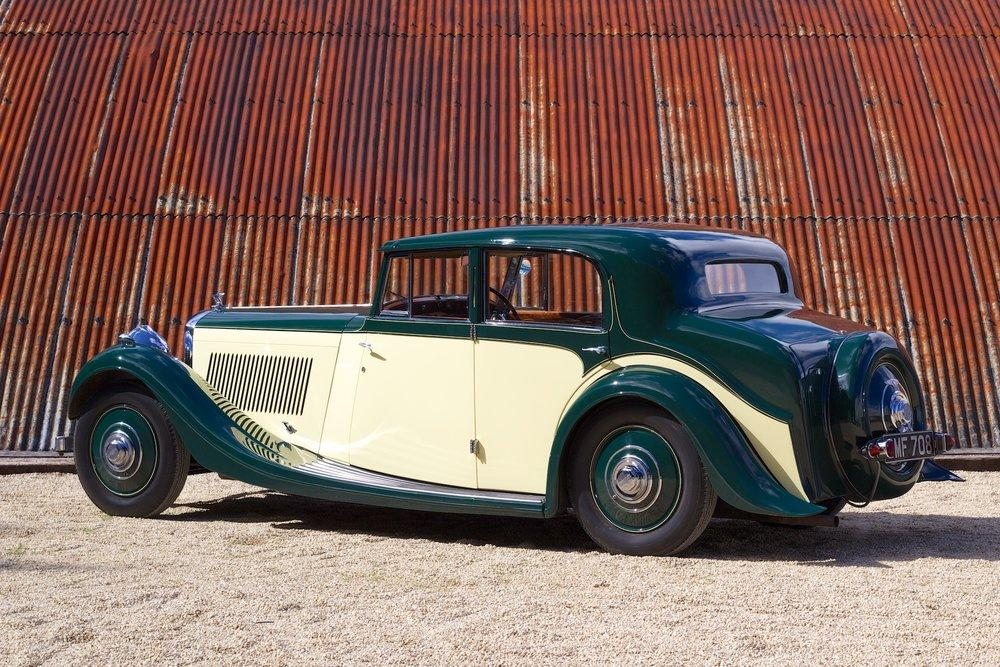 1935 Bentley 3½ Litre Saloon by Freestone & Webb #4