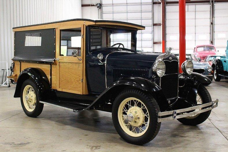 1931 Ford Model A Huckster #6
