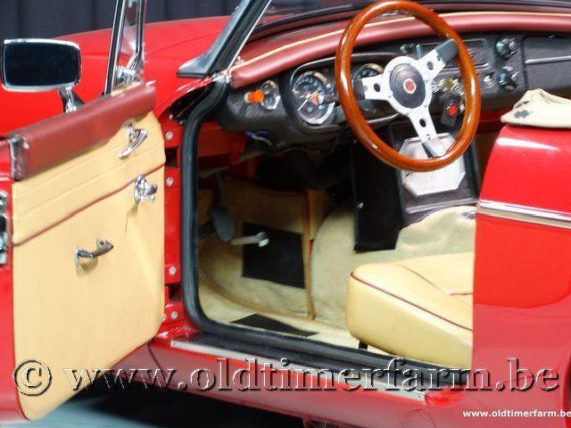MG B Roadster Red '67 #134
