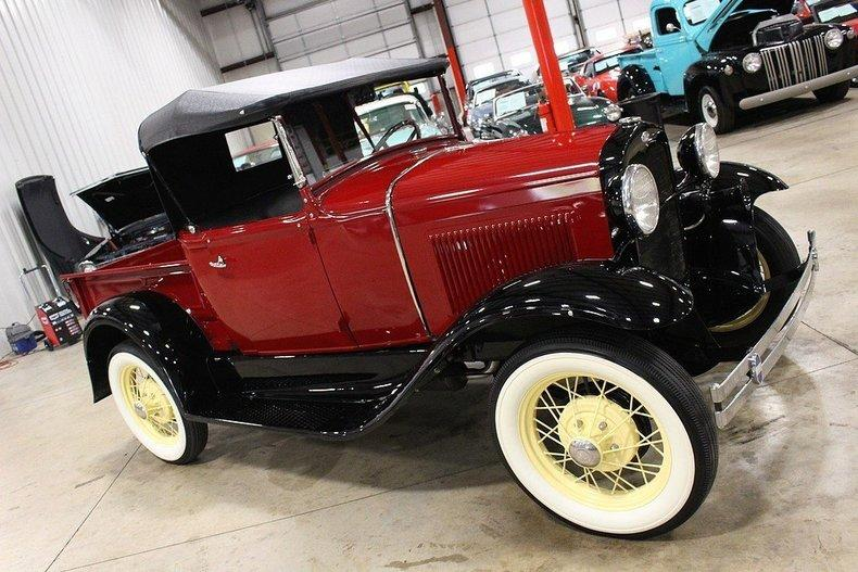 1931 Ford Model A #77