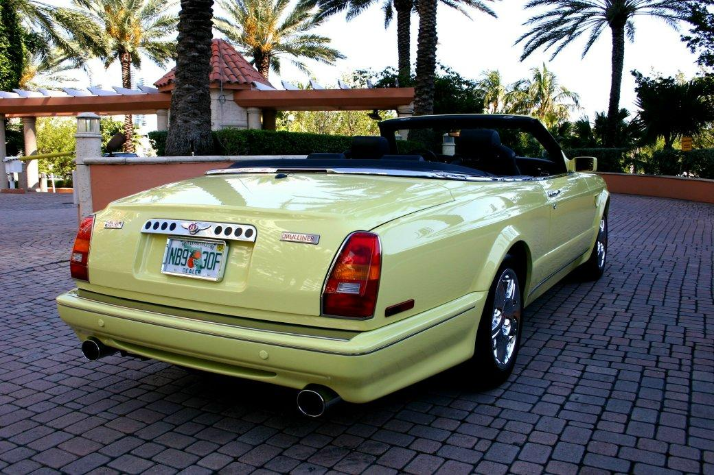 "2001 BENTLEY MULLINER ""WIDEBODY"" AZURE – Personal Commission – #1 of 1 – 420 Hp #1CX62524 42,633 miles #7"