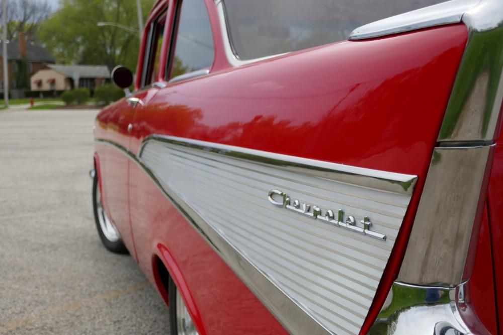 1957 Chevrolet 210 -HIGH END INVESTMENT-AMAZING PAINT AND QUALITY-TRI FIVE-NEW LOWERED PRICE - Stock # 57283CVJM for sale near Mundelein, IL | IL Chevrolet Dealer #10