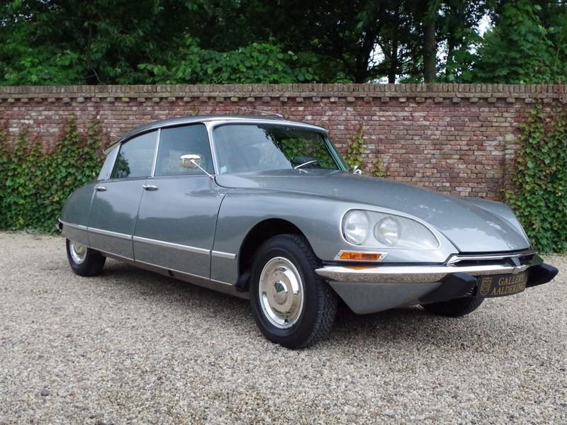 CITROËN DS21 PALLAS INJECTION WITH SUNROOF AND MANUAL GEARBOX! . (1970) #57