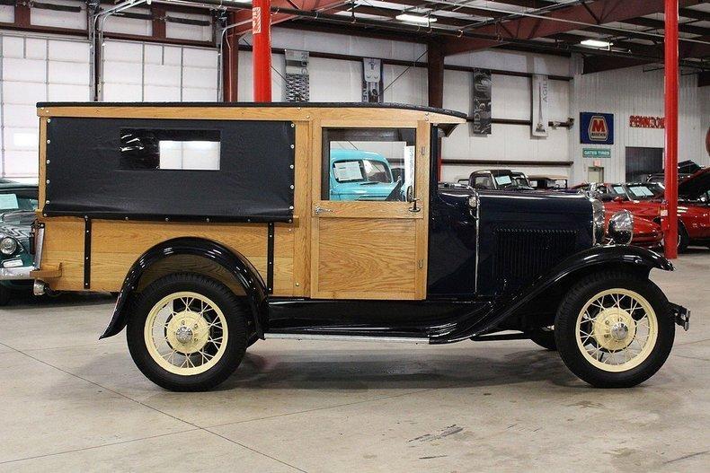 1931 Ford Model A Huckster #5