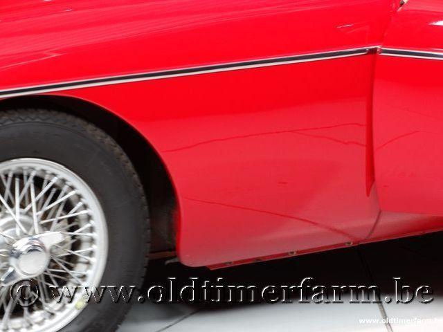 MG B Roadster Red '67 #127