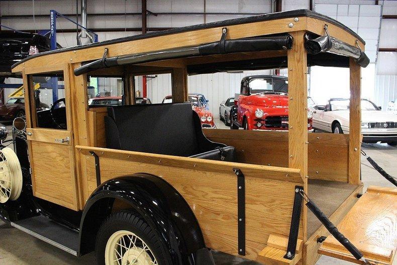 1931 Ford Model A Huckster #42