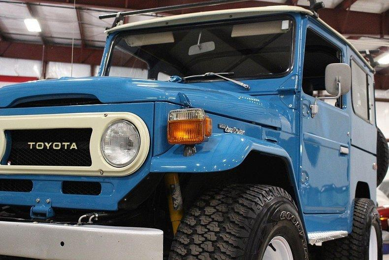 1977 Toyota Land Cruiser FJ-40 #25