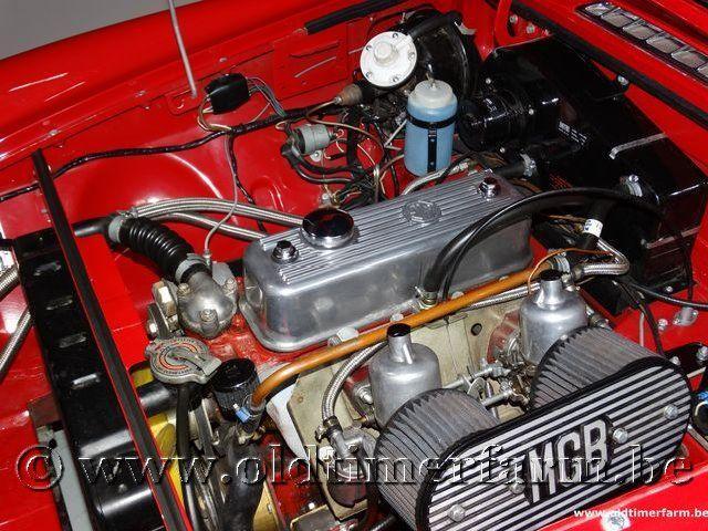 MG B Roadster Red '67 #177