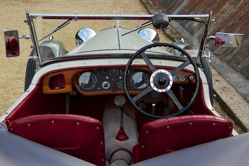 1932 Alvis Speed 20 SA 4-Door Tourer by Cross & Ellis #7
