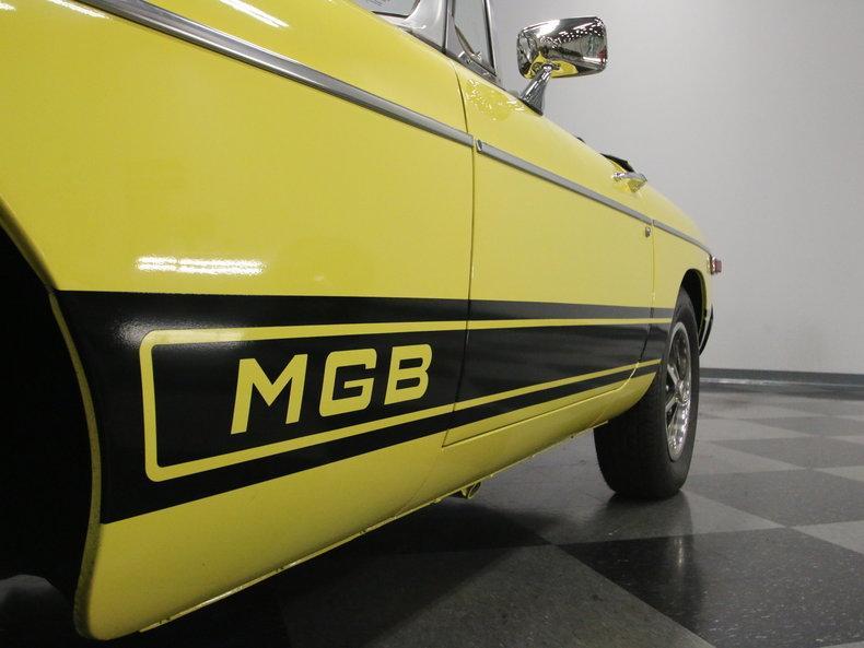 1977 MG MGB #69