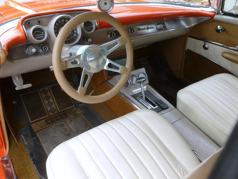 1957 Chevrolet Bel Air -400 HP - MSD - BUCKET SEATS- GREAT QUALITY DRIVER- Stock # 38357SAL for sale near Mundelein, IL | IL Chevrolet Dealer #9