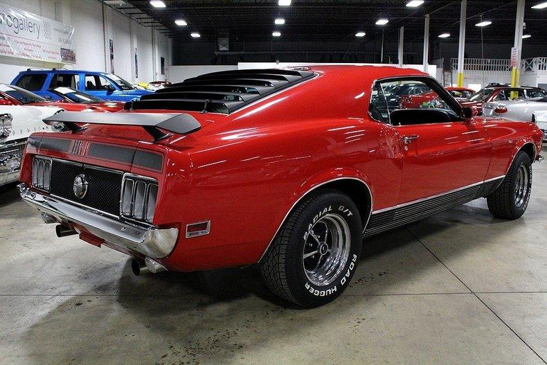 1970 Ford Mustang Mach 1 #4