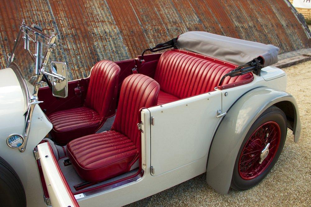 1932 Alvis Speed 20 SA 4-Door Tourer by Cross & Ellis #11