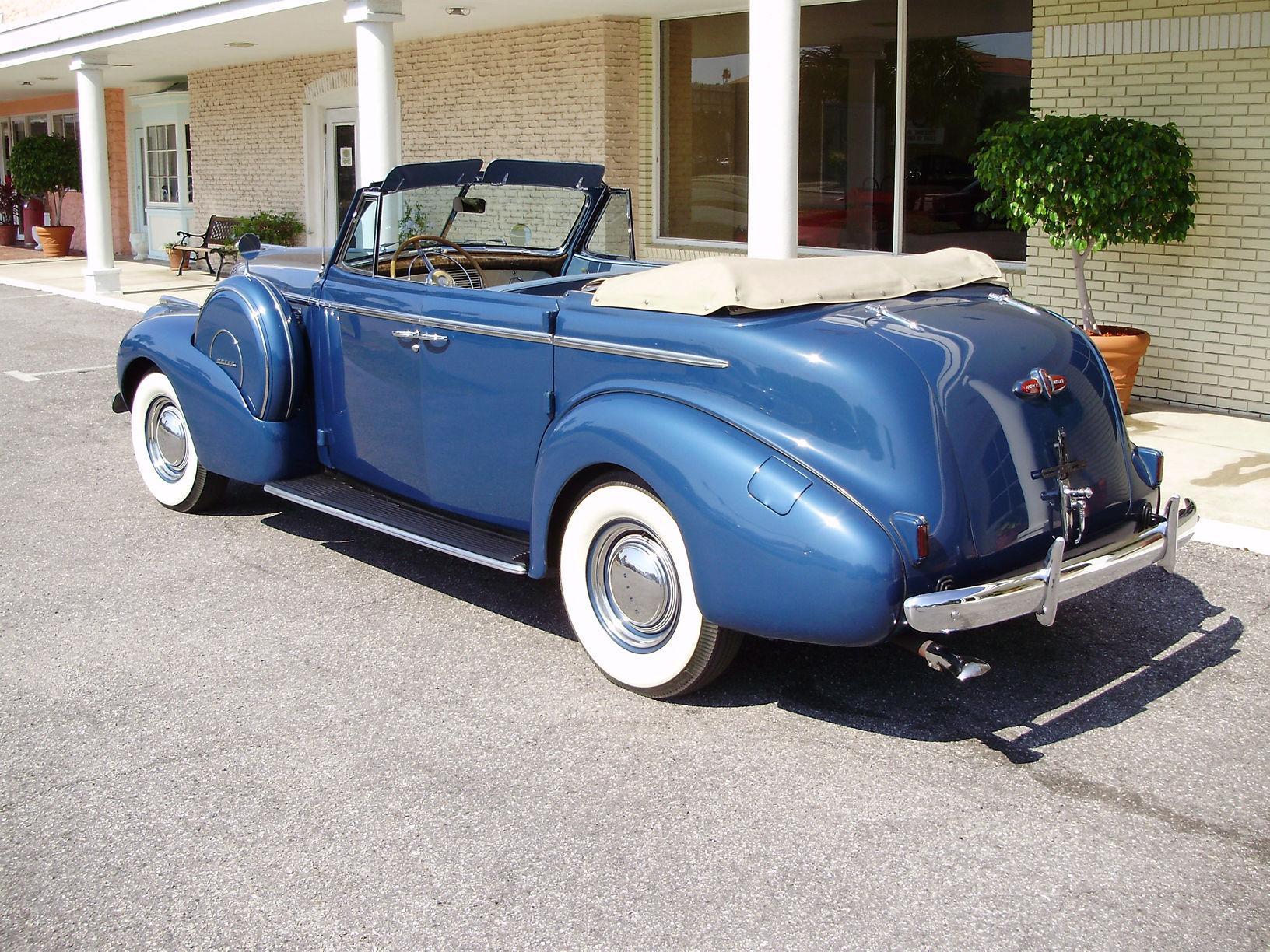 1940 BUICK CENTURY CONVERTIBLE SEDAN - Vintage Motors of Sarasota Inc. #4