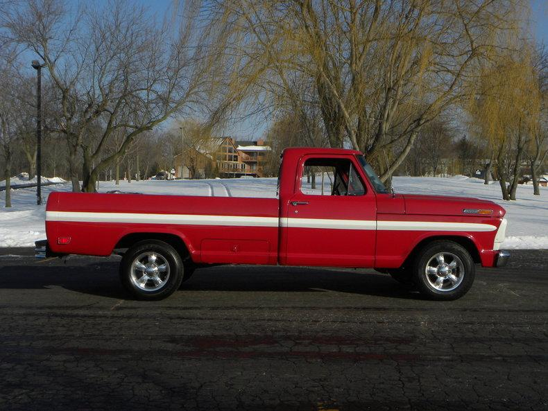 1969 Ford F100 Deluxe Styleside Pickup #3