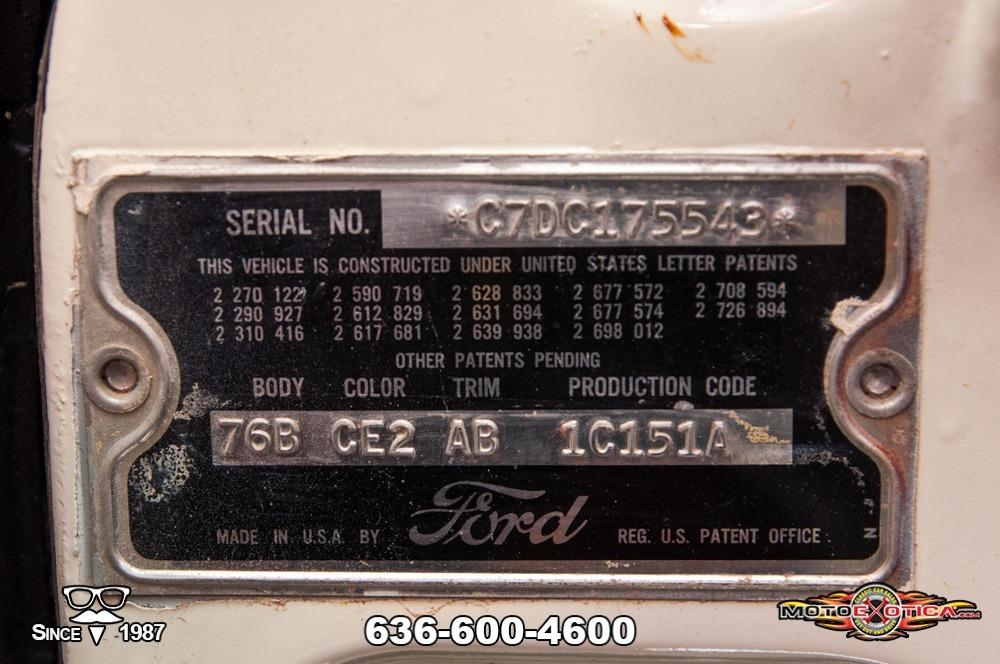 1957 Ford Fairlane 500 Sunliner Restomod #67