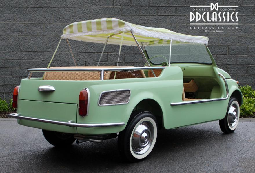 Fiat 500 Giardiniera Jolly 1962 #3