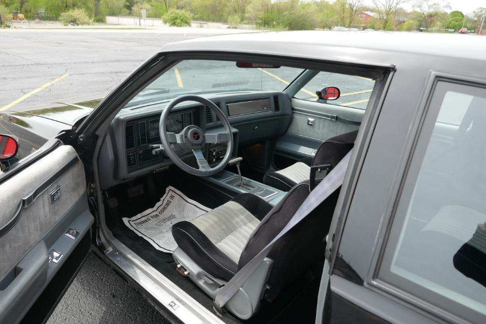 1986 Buick Grand National -PRICED TO SELL-ONE OWNER STOCK GN-LOW 34K MILES-CLEAN CARFAX-SEE VIDEO Stock # 52343SG for sale near Mundelein, IL | IL Buick Dealer #28