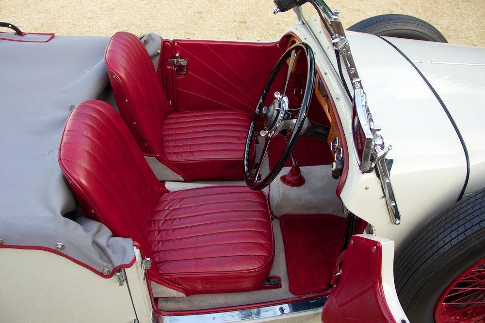 1932 Alvis Speed 20 SA 4-Door Tourer by Cross & Ellis #13