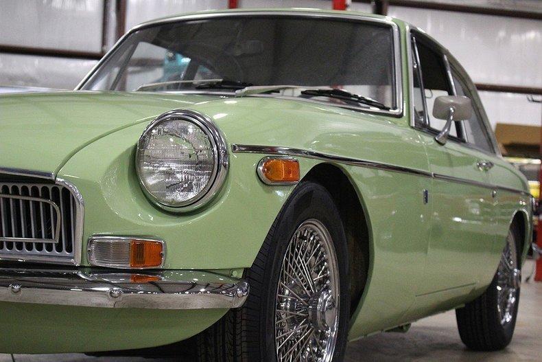 1970 MG MGB GT #27