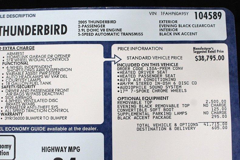 2005 Ford Thunderbird #26