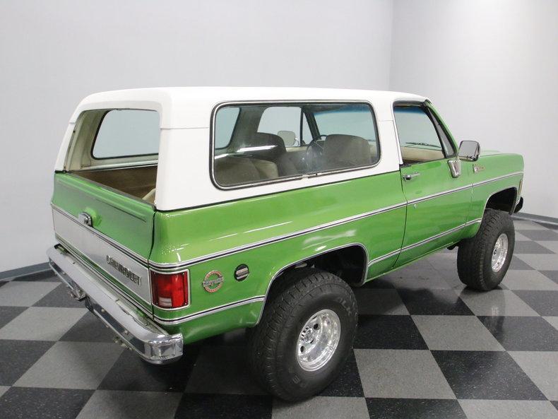 1975 Chevrolet Blazer K5 #28