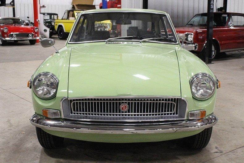 1970 MG MGB GT #7