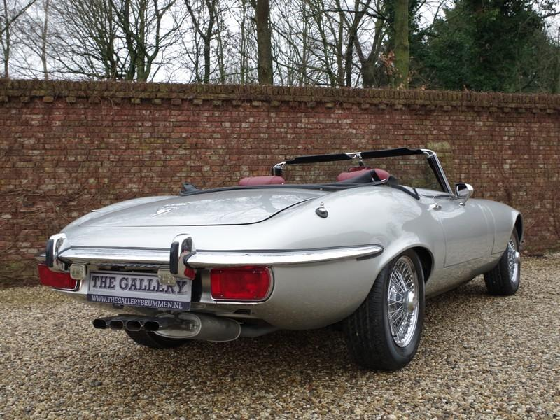 Jaguar E-type series 3 V12 convertible manual gearbox, with factory AC (1973) #74