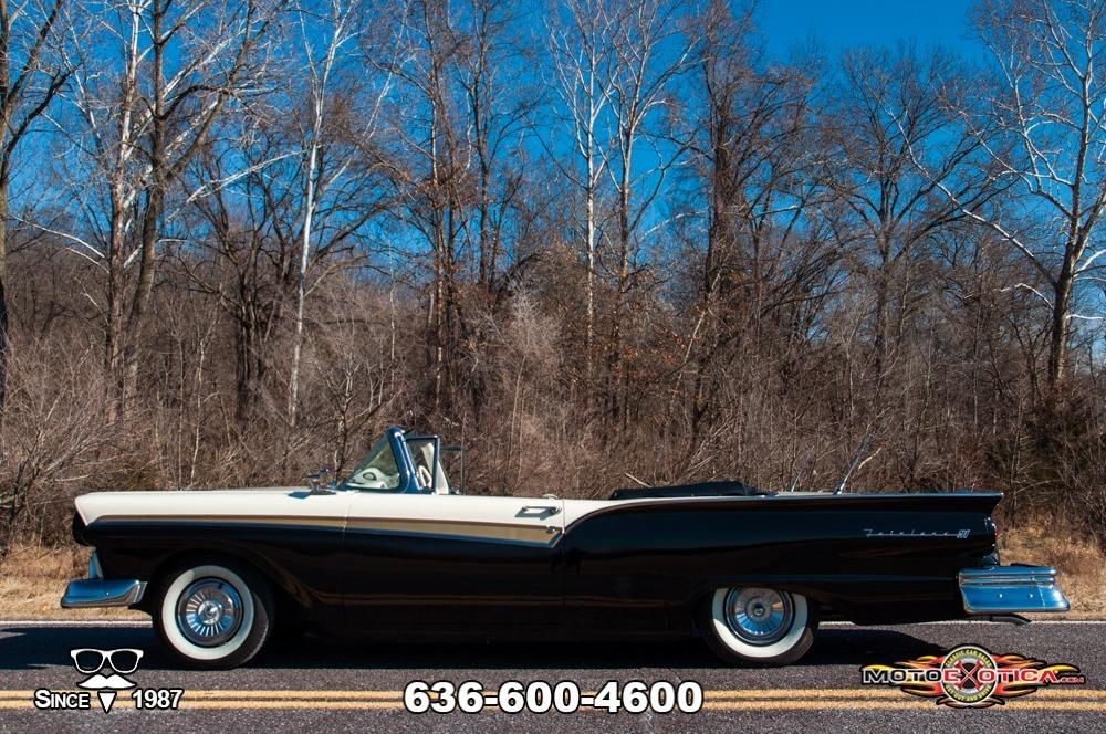 1957 Ford Fairlane 500 Sunliner Restomod #13