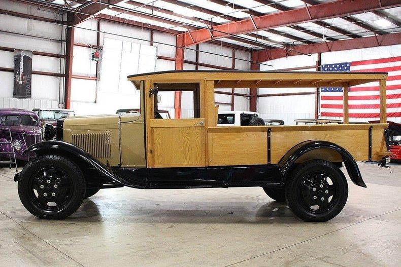 1931 Ford AA Huckster #1