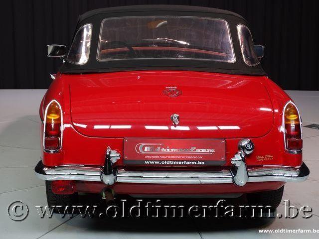 MG B Roadster Red '67 #224