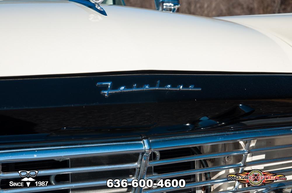 1957 Ford Fairlane 500 Sunliner Restomod #18