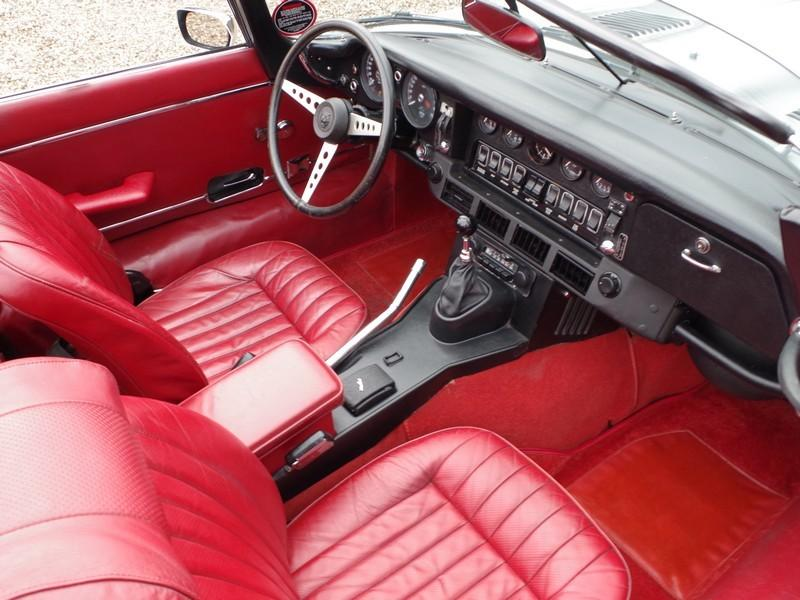 Jaguar E-type series 3 V12 convertible manual gearbox, with factory AC (1973) #49