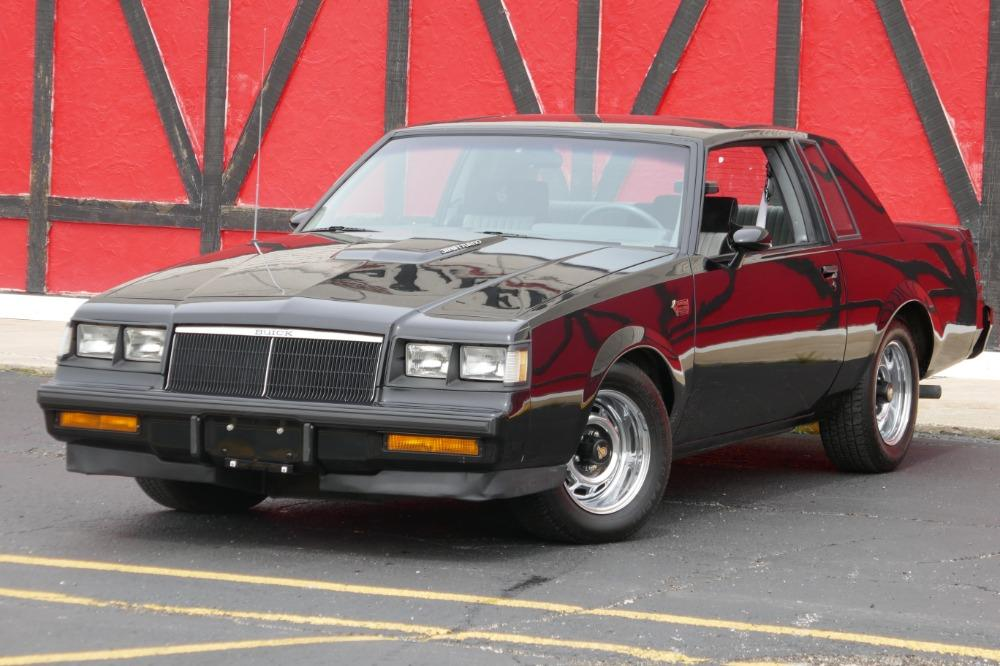 1986 Buick Grand National -PRICED TO SELL-ONE OWNER STOCK GN-LOW 34K MILES-CLEAN CARFAX-SEE VIDEO Stock # 52343SG for sale near Mundelein, IL | IL Buick Dealer #0