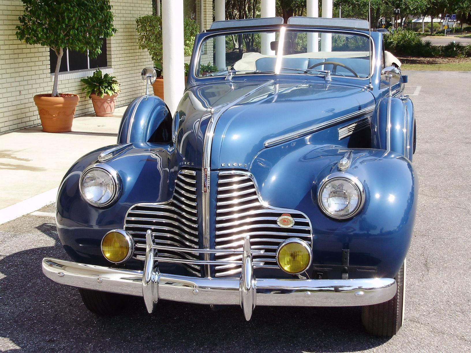 1940 BUICK CENTURY CONVERTIBLE SEDAN - Vintage Motors of Sarasota Inc. #11