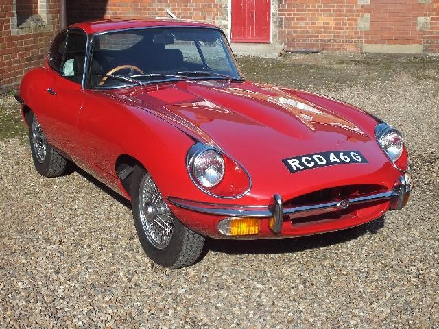 Jaguar Series 2 E Type #0